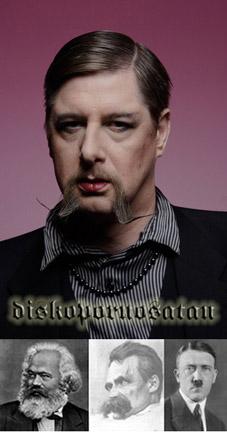 Deutscher Bart Hitlerbart