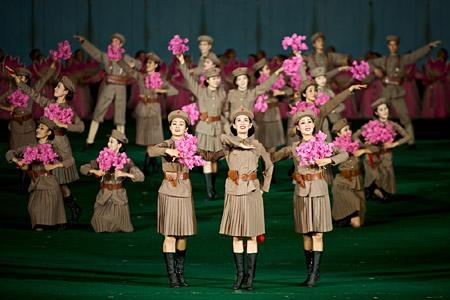 Massgames Nordkorea